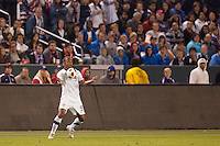 USA's Teal Bunbury (9) traps the ball. US Men's National team played the National team of Chile to 1-1 draw at Home Depot Center stadium in Carson, California on Saturday January 22, 2010.