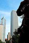 Dinosaur Attacks The Anon Building