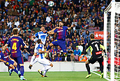 9th September 2017, Camp Nou, Barcelona, Spain; La Liga football, Barcelona versus Espanyol;  Luis Suarez in action