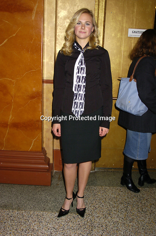"Laura Bell Bundy ..at a performance of ""Pippin"" A Concert to Benefit The National Aids Fund and The Storm Theatre on November 29, 2004 at The Manhattan Center's Grand Ballroom...PHoto by Robin Platzer, Twin Images"