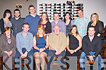 KEY TO THE DOOR: Charlotte Maguire, Ballyduff enjoying a great time celebrating her 21st birthday with family and friends at the Station House restaurant and bar, Blennerville on Saturday seated l-r: Margaret Maguire, Tomas Harrington, Charlotte Maguire, Tom Maguire, Rebecca Carroll and Eamonn Maguire. Back l-r: Mary Lynch Thomas Maguire, John and Aine Horan, Kevin Maguire, Mags Gaynor, Colm Carroll and Anita Maguire.