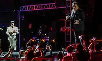 El cantante de m&uacute;sica popular mexicana, Juan Gabriel , durante la noche de su concierto en expoForum como parte de su gira NOA NOA.<br /> &copy;Foto: Stringer/NORTEPHOTO.COM