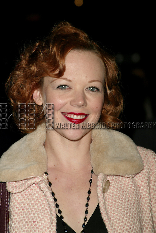 Emily Bergl.Attending the Opening Night celebration for the Roundabout Theatre Company's Off-Broadway production of MR. MARMALADE atthe Laura Pels Theatre in New York City..November 20, 2005.© Walter McBride / Retna Ltd.