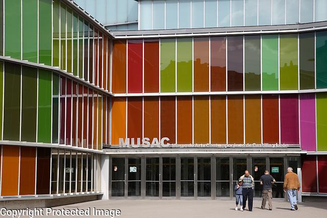 Contemporary Art Museum - MUSAC - Leon, Spain