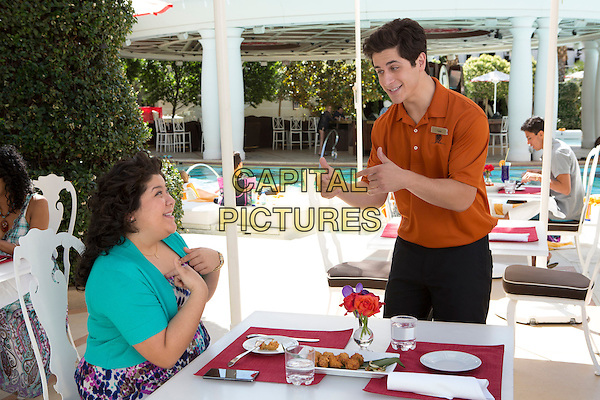 Raini Rodriguez, David Henrie<br /> in Paul Blart: Mall Cop 2 (2015) <br /> *Filmstill - Editorial Use Only*<br /> CAP/FB<br /> Image supplied by Capital Pictures