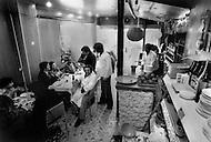 Paris, August 1977. Restaurant Le Repais. Vie Quotidienne des Juifs a Paris.