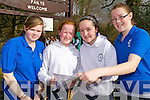 Pictured are students from Presentation Secondary School, Tralee at the KES Inter Schools Orienteering day in Ballyseedy woods on Thursday, from left: Leslie McCarthy, Kate Shannon, Sinead Sheehan and Hannah OConnor.
