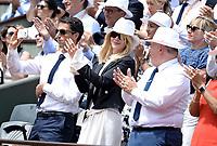Tony Estanguet; Nicole Kidman - Internationaux de france de tennis de Roland Garros 2017 - Finale MESSIEURS