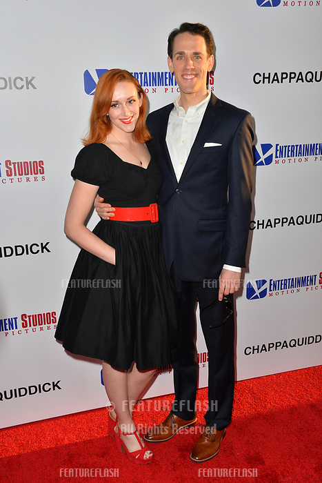 Jason Liles &amp; Guest at the premiere for &quot;Chappaquiddick&quot; at the Samuel Goldwyn Theatre, Los Angeles, USA 28 March 2018<br /> Picture: Paul Smith/Featureflash/SilverHub 0208 004 5359 sales@silverhubmedia.com