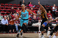 Stanford, CA - November 19, 2017:  Stanford Women's Basketball defeats CSU Bakersfield 57-34 at Maples Pavilion.  Stanford wore turquoise uniforms to celebrate Native American Heritage Month.