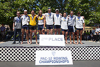 May 14, 2017, Gold River, CA: Pac 12 Rowing Championships.