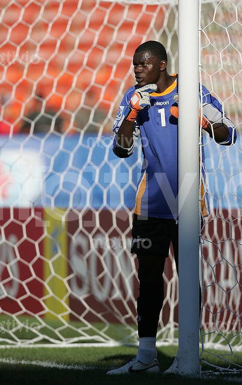 Fussball International U 20 WM  Kongo vs Austria Torhueter Destin ONKA (CGO).