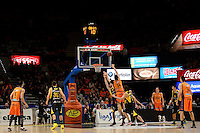 Dubljevic vs Tsairelis<br /> Liga Endesa ACB - 2014/15<br /> J15<br /> Valencia Basket vs Iberostar Tenerife