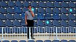 Fernando Vazquez head coach (RC Deportivo de la Coruna) looks on La Liga Smartbank match round 39 between Malaga CF and RC Deportivo de la Coruna at La Rosaleda Stadium in Malaga, Spain, as the season resumed following a three-month absence due to the novel coronavirus COVID-19 pandemic. Jul 03, 2020. (ALTERPHOTOS/Manu R.B.)