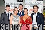John O'Keeffe, Norma O'Riordan, Brendan O'Keeffe, Emma O'Leary and Mark Reen at the Rathmore GAA social in the Killarney Avenue on Friday night