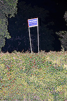 Donald Trump - Campaign signs - Miami, FL - 11 Oct 2016