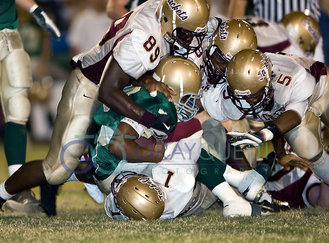 October 12, 2007, St. Augustine @ Nease, high school football.  Nease defeated St. Augustine 17-15.