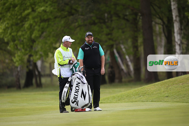 Shane Lowry (IRL) during Round Two of the 2015 BMW PGA Championship over the West Course at Wentworth, Virginia Water, London. 22/05/2015Picture David Lloyd, www.golffile.ie.