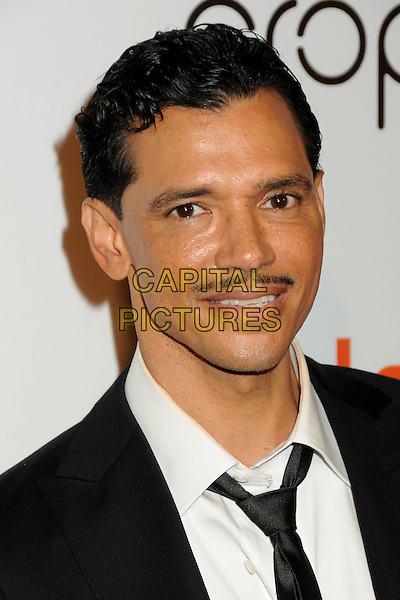 "EL DeBARGE .Interscope Geffen A&M Records 4th Annual ""Creme of the Crop"" Post BET Awards 2010 Celebration held at Mr. Chow Restaurant,  Beverly Hills, California, USA, 27th June 2010..portrait headshot white shirt moustache facial hair mustache black suit tie .CAP/ADM/BP.©Byron Purvis/AdMedia/Capital Pictures."