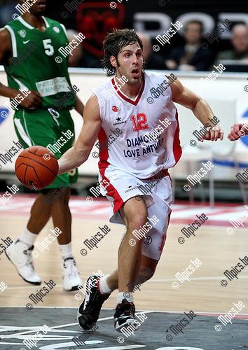 2007-12-11 / Basketbal / Uleb Cup: Antwerp Giants - Fribourg / Ian Hanavan (Giants)..Foto: Maarten Straetemans (SMB)