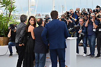 Ricardo Darin, Penelope Cruz, Asghar Farhadi &amp; Javier Bardem at the photocall for &quot;Everybody Knows&quot; at the 71st Festival de Cannes, Cannes, France 09 May 2018<br /> Picture: Paul Smith/Featureflash/SilverHub 0208 004 5359 sales@silverhubmedia.com