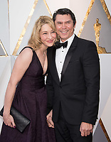 Lou Diamond Phillips and guest arrive on the red carpet of The 90th Oscars&reg; at the Dolby&reg; Theatre in Hollywood, CA on Sunday, March 4, 2018.<br /> *Editorial Use Only*<br /> CAP/PLF/AMPAS<br /> Supplied by Capital Pictures