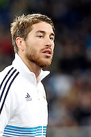 Real Madrid CF vs Athletic Club de Bilbao (5-1) at Santiago Bernabeu stadium. The picture shows Sergio Ramos. November 17, 2012. (ALTERPHOTOS/Caro Marin) NortePhoto