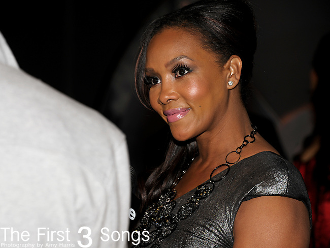 VIVICA A. FOX attends the Cash Money Records Annual Pre-Grammy Awards Party at the Lot in West Hollywood on Saturday, February 12, 2011.