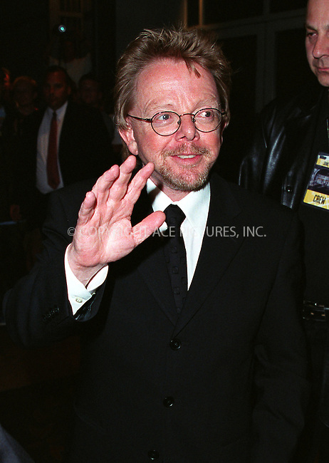 PAUL WILLIAMS outside Sheraton New York Hotel and Towers for Songwriters Hall of Fame 2002 Awars. New York, June 13, 2002. Please byline: Alecsey Boldeskul/NY Photo Press.   ..*PAY-PER-USE*      ....NY Photo Press:  ..phone (646) 267-6913;   ..e-mail: info@nyphotopress.com