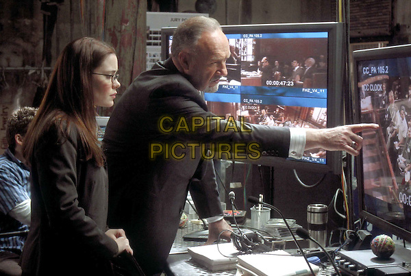 MARGUERITE MOREAU & GENE HACKMAN.in Runaway Jury.Filmstill - Editorial Use Only.CAP/AWFF.Supplied by Capital Pictures.