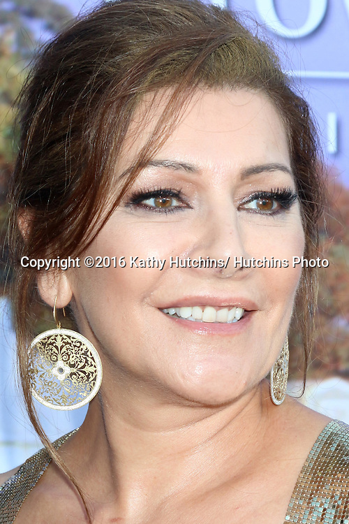 LOS ANGELES - JUL 27:  Marina Sirtis at the Hallmark Summer 2016 TCA Press Tour Event at the Private Estate on July 27, 2016 in Beverly Hills, CA