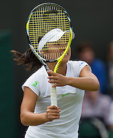 England, London, 25.06.2014. Tennis, Wimbledon, AELTC, Kurimi Nara (JPN)<br /> Photo: Tennisimages/Henk Koster