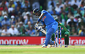 June 18th 2017, The Kia Oval, London, England;  ICC Champions Trophy Cricket Final; India versus Pakistan; Hardik Pandya of India hits a six