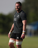 PRETORIA, SOUTH AFRICA - OCTOBER 05: Kieran Read during the Rugby Championship New Zealand All Blacks captain's run at St David's Marist Inanda in Sandown, South Africa on Friday, October 5, 2018. Photo: Steve Haag / stevehaagsports.com