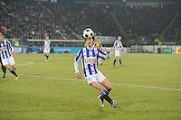 VOETBAL: SC HEERENVEEN: Abe Lenstra Stadion, 17-02-2012, SC-Heerenveen-NAC, Eredivisie, Eindstand 1-0, Filip Djuricic, ©foto: Martin de Jong.