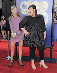 Heather Morris and Ashley Fink attends The 20th Century Fox - GLEE 3D Concert World Movie Premiere held at The Regency Village theatre in Westwood, California on August 06,2011                                                                               © 2011 DVS / Hollywood Press Agency