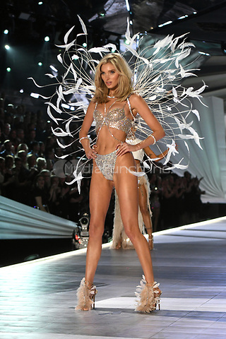 NEW YORK, NY - NOVEMBER 08: Elsa Hosk at the 2018 Victoria's Secret Fashion Show at Pier 94 on November 8, 2018 in New York City. Credit: John Palmer/MediaPunch