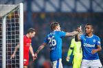 4.3.2018: Rangers v Falkirk Scottish Cup QF<br /> Jason Cummings and Alfredo Morelos