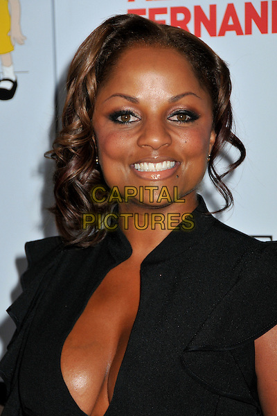 "CANDACE FISHER .Padres Contra El Cancer's 8th Annual ""El Sueño De Esperanza"" Benefit Gala at the Hollywood & Highland Ballroom, Hollywood, California, USA..October 7th, 2008.headshot portrait black cleavage .CAP/ADM/BP.©Byron Purvis/AdMedia/Capital Pictures."