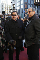 Guy A Lepage atttend the funeral of Rene Angelil, , Friday Jan. 22, 2016 at Notre-Dame Basilica in Montreal, Canada.<br /> <br /> <br /> <br /> <br /> <br /> <br /> <br /> <br /> <br /> <br /> <br /> <br /> <br /> .