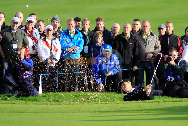 Martin Kaymer in the opening fourballs at the 2010 Ryder Cup, Celtic Manor, Newport, Wales, Saturday 2nd October 2010..Picture Manus O'Reilly/www.golffile.ie