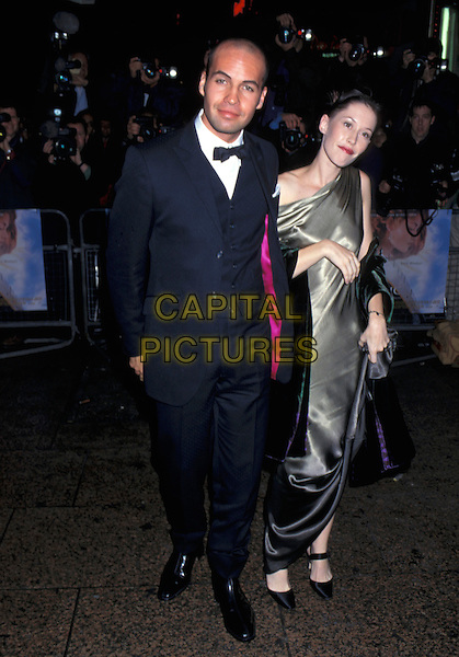BILLY ZANE & DATE.full length.18th November 1997.Ref: PL.www.capitalpictures.com.sales@capitalpictures.com.©Phil Loftus/Capital Pictures.