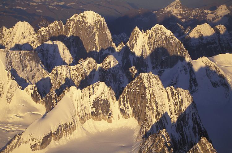 Alaska Range, Aerial view