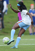 Boyds, MD - Saturday May 14, 2016: Houston Dash forward Chioma Ubogagu (9) before a regular season National Women's Soccer League (NWSL) match at Maureen Hendricks Field, Maryland SoccerPlex. The Washington Spirit defeated the Houston Dash 1-0.
