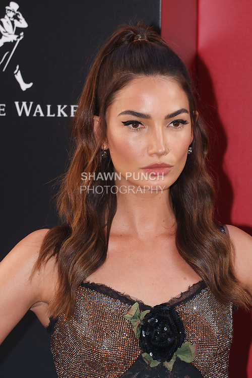 Lily Aldridge arrives at the World Premiere of Ocean's 8 at Alice Tully Hall in New York City, on June 5, 2018.