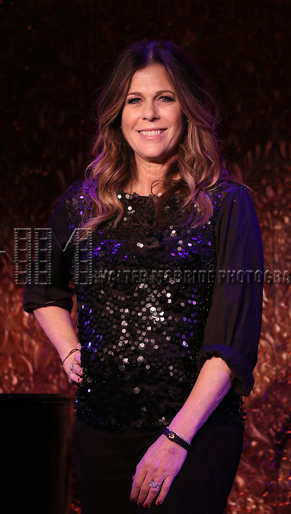 Rita Wilson attending a Press Preview for her upcoming singing Engagement at 54 Below in New York City on 4/12/2013..She will be appearing April 14, 2013 - April 20, 2013