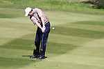 Peter Lawrie on the 7th hole during Round 3 of the BMW PGA Championship at  Wentworth, Surrey, England, 22nd May 2010...Photo Golffile/Eoin Clarke.(Photo credit should read Eoin Clarke www.golffile.ie)....This Picture has been sent you under the condtions enclosed by:.Newsfile Ltd..The Studio,.Millmount Abbey,.Drogheda,.Co Meath..Ireland..Tel: +353(0)41-9871240.Fax: +353(0)41-9871260.GSM: +353(0)86-2500958.email: pictures@newsfile.ie.www.newsfile.ie.