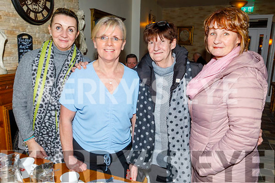 Aoife Nolan, Mary Maunsell, Betty O'Connell and Elaine Egan enjoying the evening in Bella Bia on Thursday.