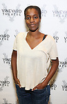 """Awoye Timpo attends the Cast photo call for the Vineyard Theatre production of """"Good Gfief"""" on September 12, 2018 at the Vineyard Theatre in New York City."""