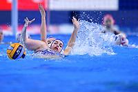 KATLOVSKA Daniela SVK <br /> Budapest 12/01/2020 Duna Arena <br /> SLOVAKIA (white caps) Vs. RUSSIA (blue caps)<br /> XXXIV LEN European Water Polo Championships 2020<br /> Photo  © Andrea Staccioli / Deepbluemedia / Insidefoto